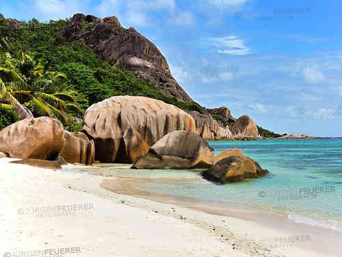 Dreamy Beach on La Digue