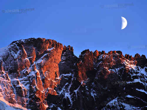 Alpenglow and Moonlight