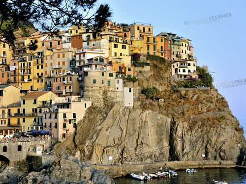 Colourful Manarola