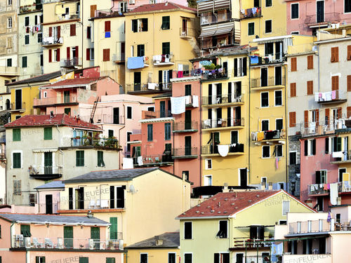 Colored Houses of Manarola