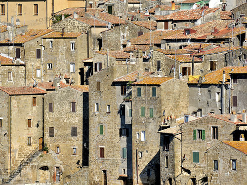 Houses of Pitigliano