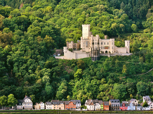 Stolzenfels Castle at the Rhine