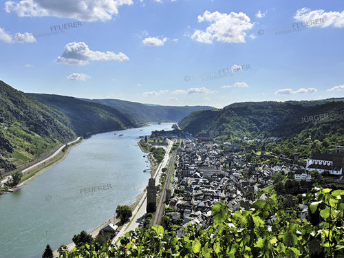 Rhine Gorge with Oberwesel