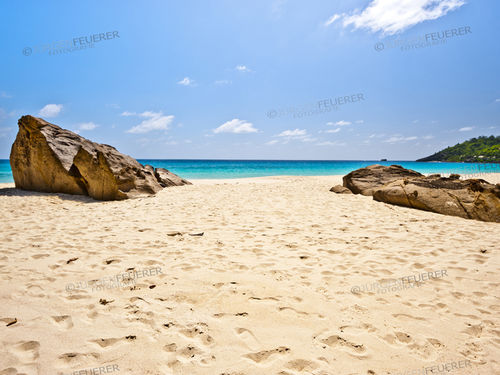 Beach of the Seychelles