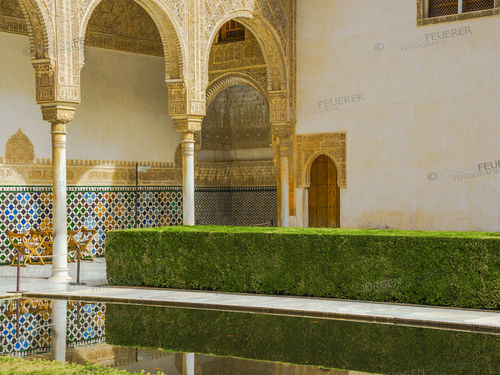 Court of the Myrtles of the Alhambra
