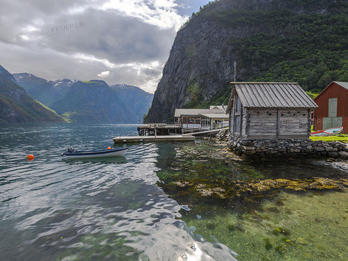 Mystic mood at the fjord - Norway