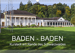 Calendar Baden-Baden 2020, Spa town of the Black Forest