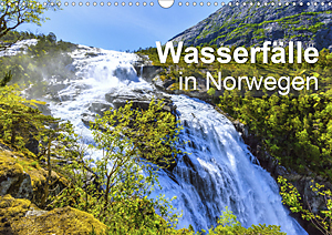 Calendar Waterfalls in Norway 2020
