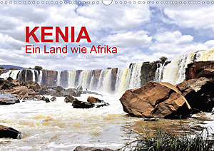 Calendar Kenya - a country like Africa 2020
