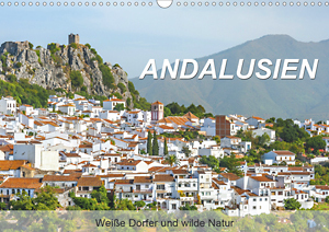 Calendar Andalusia - White Towns and wild nature 2021