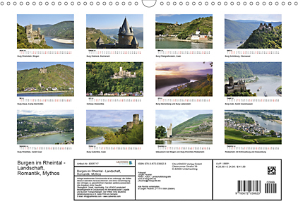 Innerview Calendar Rhine Valley and Castles 2021